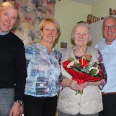 Gratulation Frau Seiser