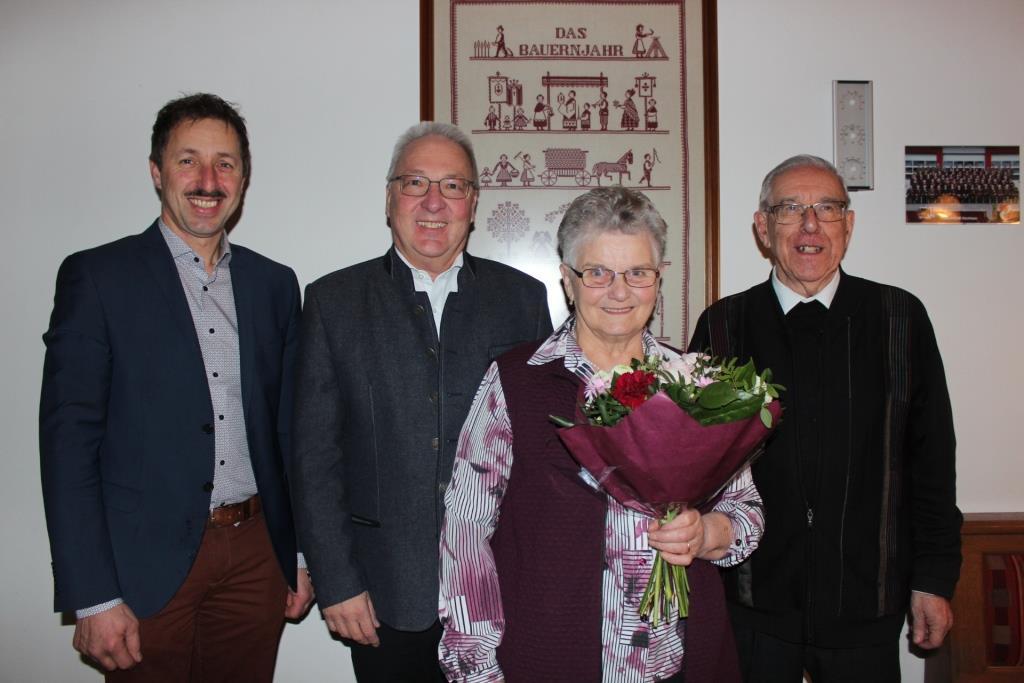 Gratulation Frau Bammer-Reisenbichler