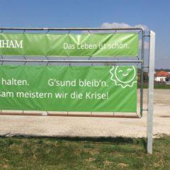 Keine Infektion in Kirchham!