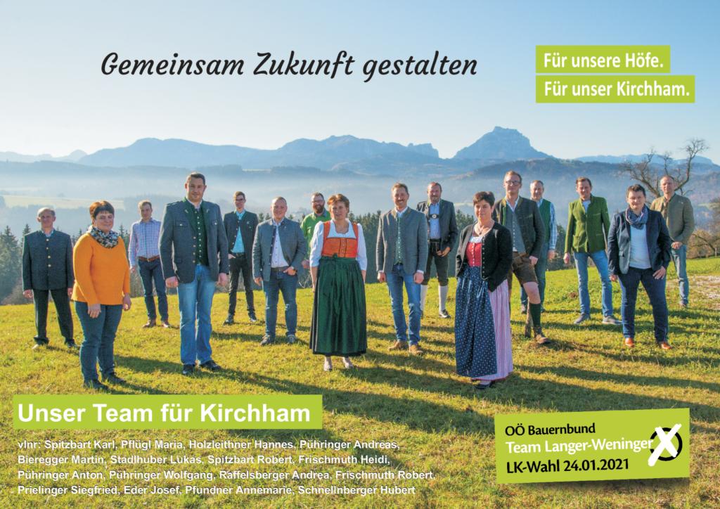 Bauernbund Kirchham – eine starke Stimme im Ort!