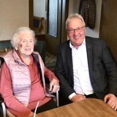Maria Kronberger feiert ihren 97. Geburtstag!