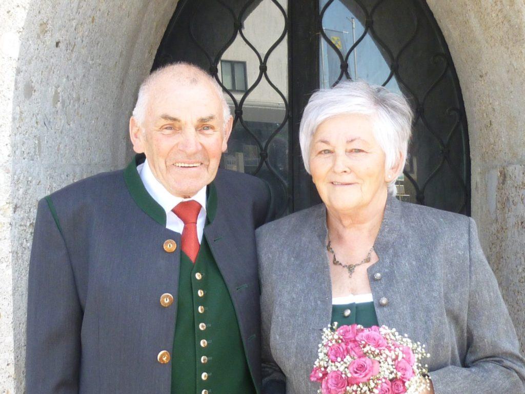 Gratulation zur Goldenen Hochzeit