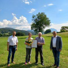 Gusti und Sepp Klinglmair feierten Goldene Hochzeit