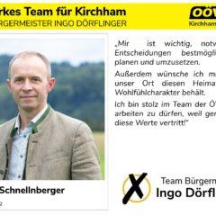 Kandidatenvorstellung Platz 8 – Hubert Schnellnberger