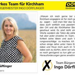 Kandidatenvorstellung Platz 7 – Astrid Lüftinger