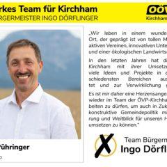 Kandidatenvorstellung Platz 3 – Anton Pühringer