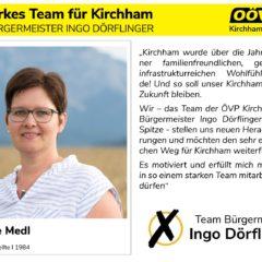 Kandidatenvorstellung Platz 2 – Gabriele Medl