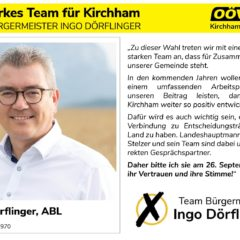 Kandidatenvorstellung Platz 1 – Bürgermeister Ingo Dörflinger
